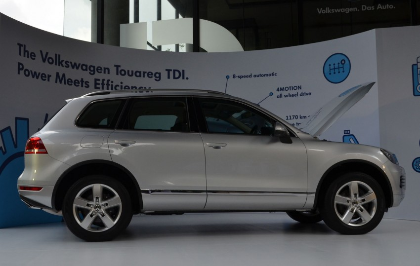 Volkswagen Touareg TDI launched, VGM's first diesel entry – 3.0L V6, 245 PS, 550 Nm, RM488,888 Image #139064