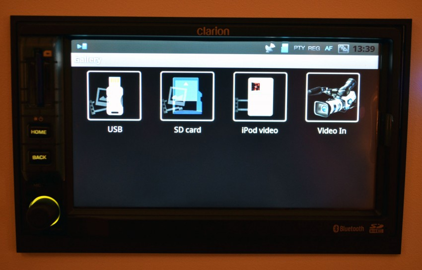 Clarion launches Mirage, the first Android-based OEM grade car stereo – retail sales to start in fourth quarter Image #95955