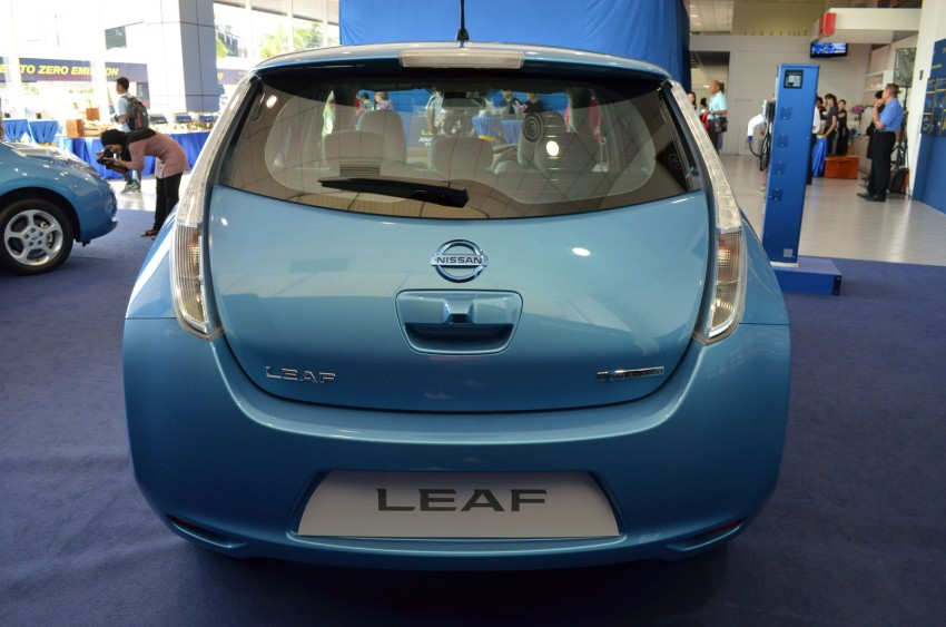 Nissan Leaf driven around the block – you can try it too! Image #104558