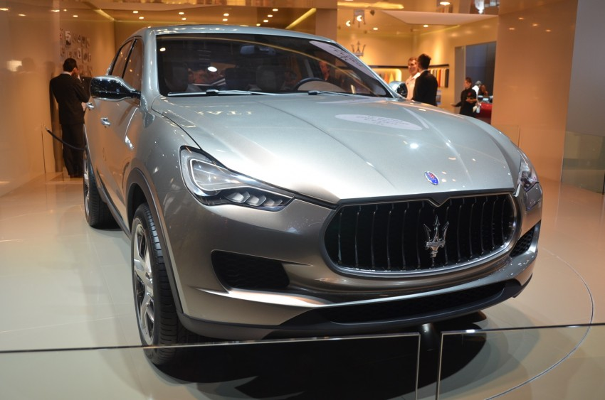 Frankfurt: Maserati joins super SUV race with a Kubang! Image #69000
