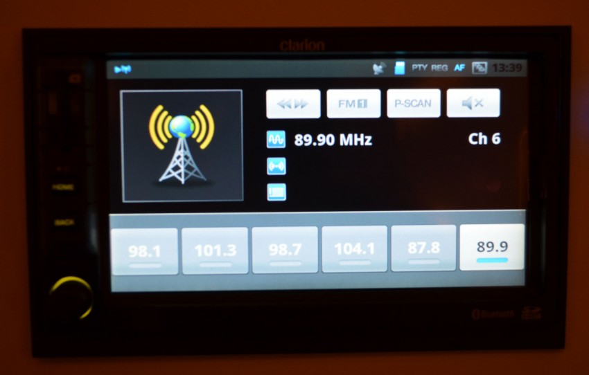 Clarion launches Mirage, the first Android-based OEM grade car stereo – retail sales to start in fourth quarter Image #95956