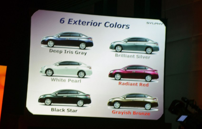 Nissan Sylphy launched in Thailand – new model gets improved 1.6, new 1.8, CVT; from 746,000 baht Image #127898