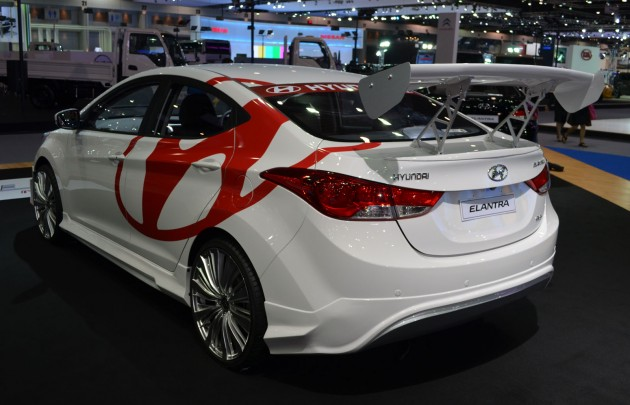 Thai Motor Expo - Hyundai Elantra gives you wings!