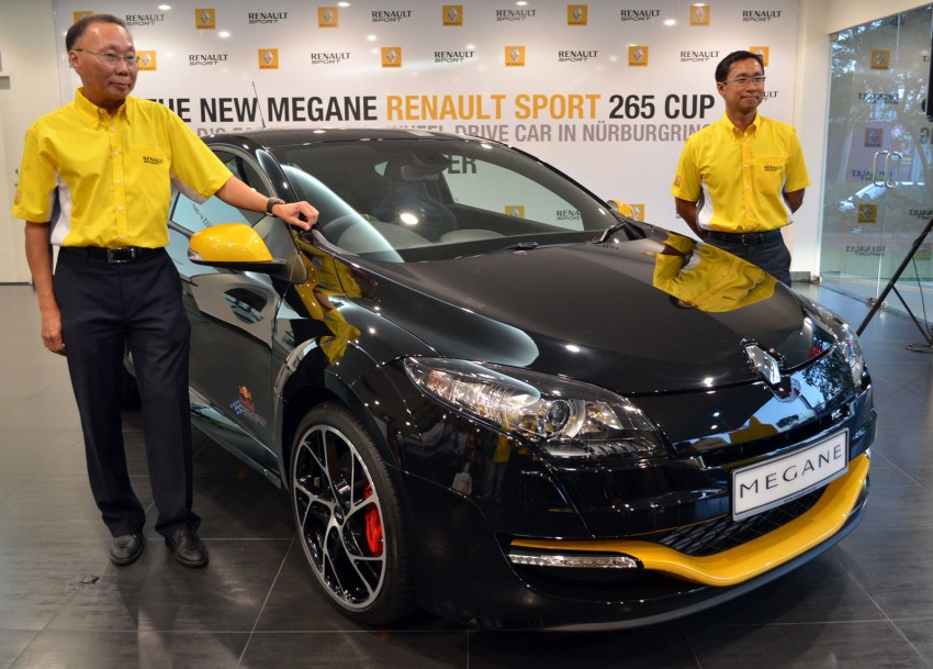 Renault Megane RS 265 Cup launched – RM235k Image #151696