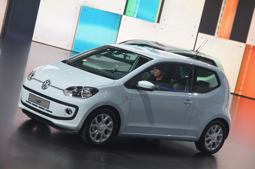 Volkswagen up! – production car debut at Frankfurt 2011 Image #69793