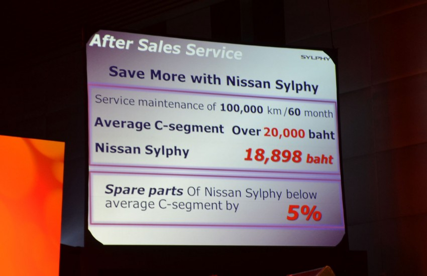 Nissan Sylphy launched in Thailand – new model gets improved 1.6, new 1.8, CVT; from 746,000 baht Image #127899