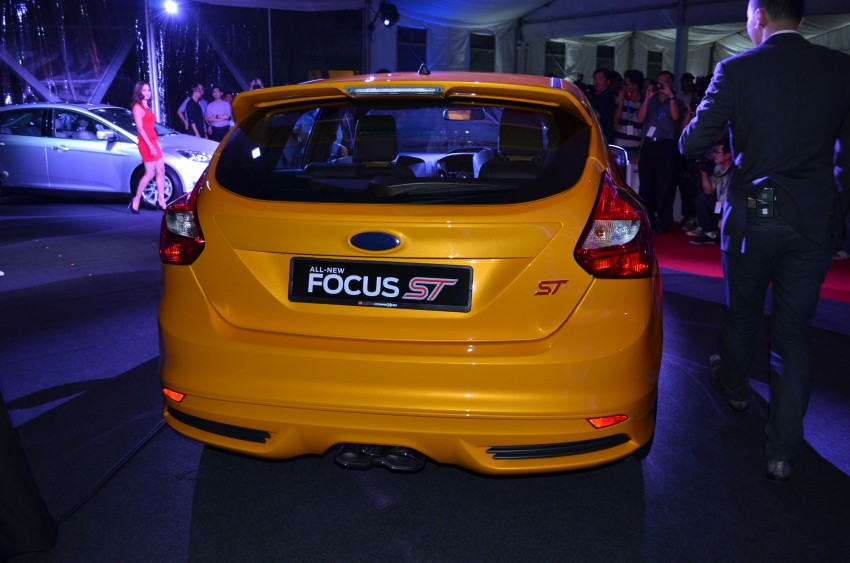 Ford Focus ST – the GTI challenger arrives, RM209k Image #131129