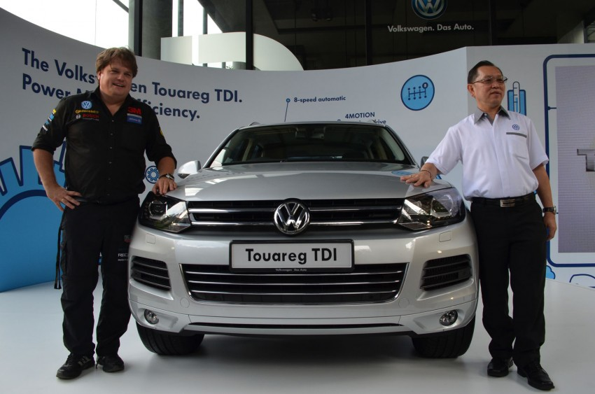 Volkswagen Touareg TDI launched, VGM's first diesel entry – 3.0L V6, 245 PS, 550 Nm, RM488,888 Image #139065
