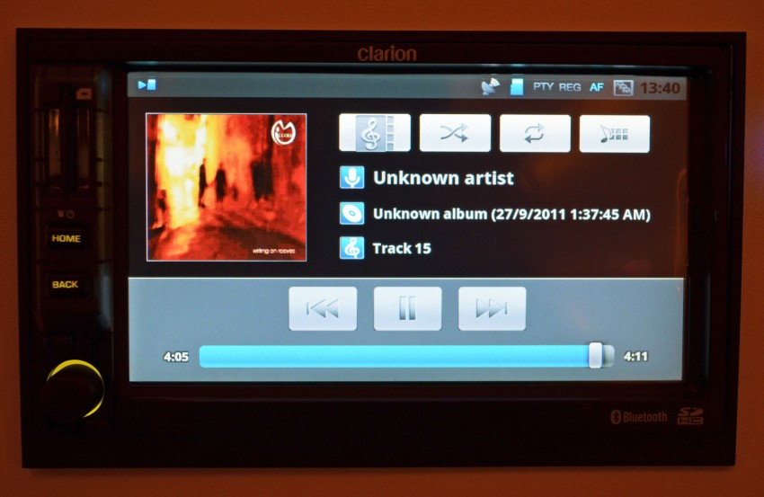 Clarion launches Mirage, the first Android-based OEM grade car stereo – retail sales to start in fourth quarter Image #95958