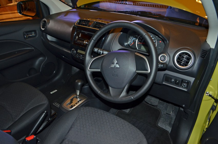 Mitsubishi Mirage officially launched – RM55k to 63k Image #141915