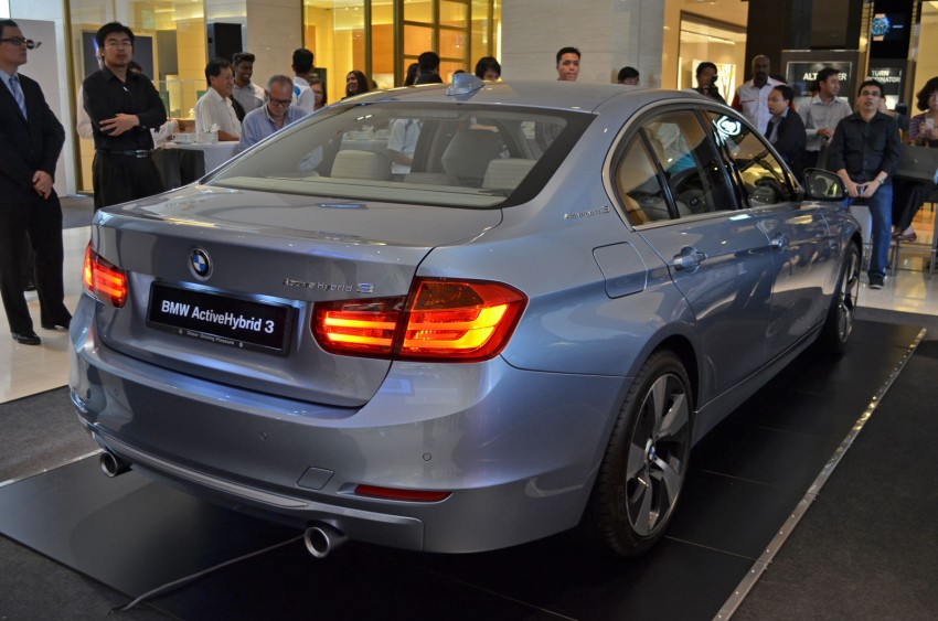BMW ActiveHybrid 3 and ActiveHybrid 5 sedans officially launched – RM538,800 and RM648,800 Image #138149