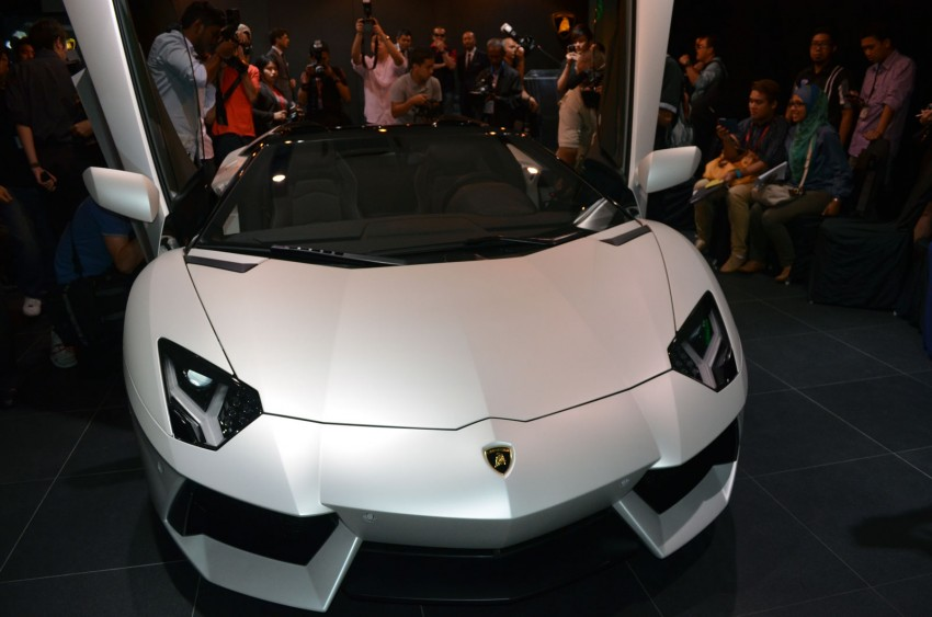 Lamborghini Aventador LP700-4 Roadster previewed in Malaysia – 18 months wait list, from RM3 million Image #142082