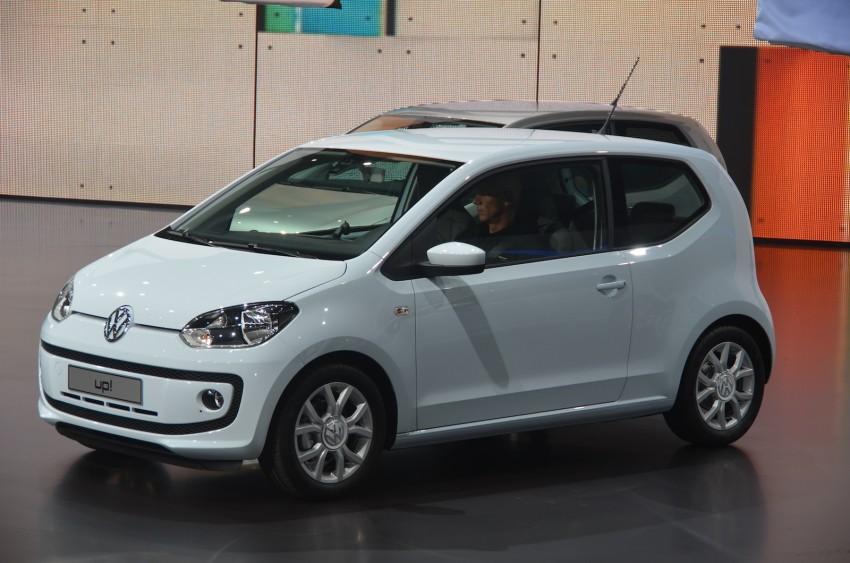 Volkswagen up! – production car debut at Frankfurt 2011 Image #69794
