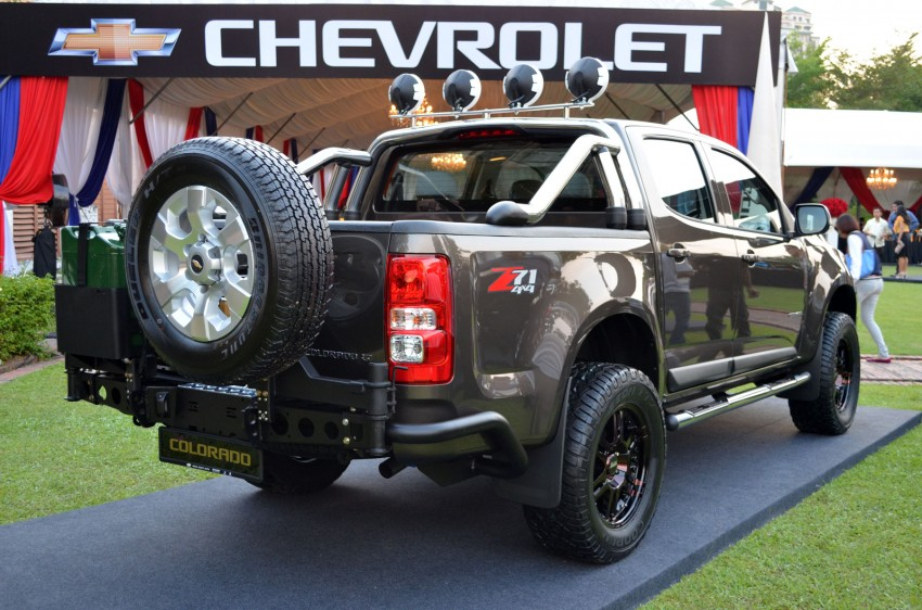 Chevrolet Colorado launched – 2.5L and 2.8L from RM90k Image #96441