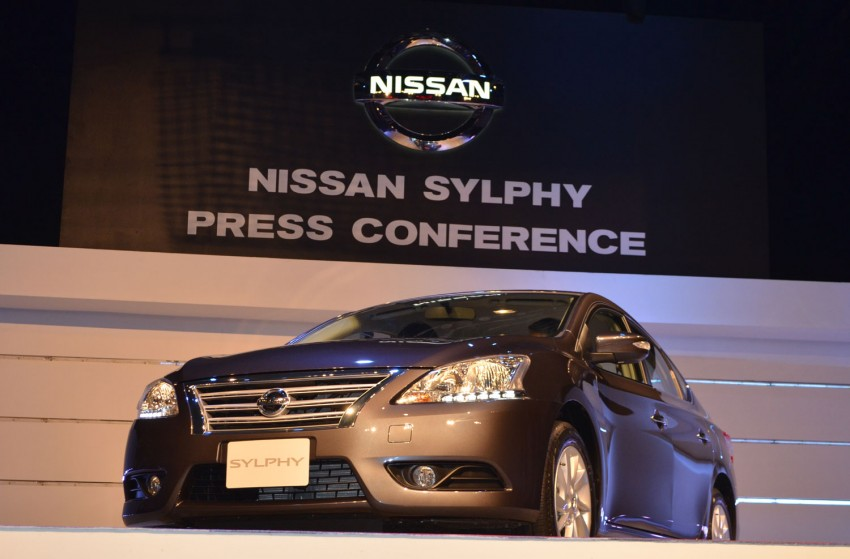 Nissan Sylphy launched in Thailand – new model gets improved 1.6, new 1.8, CVT; from 746,000 baht Image #127900