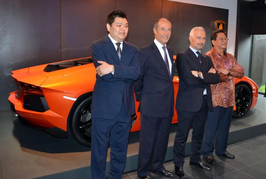 Lamborghini opens 3S centre in Glenmarie Image #108324