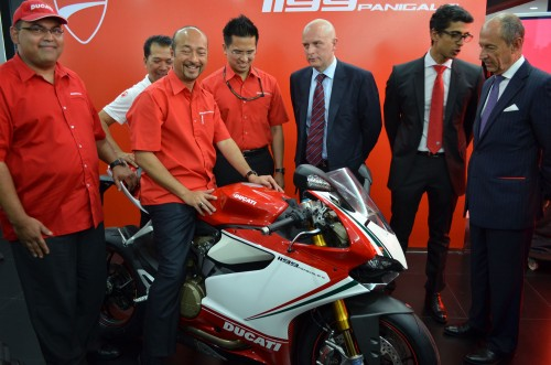 Naza opens largest Ducati Centre in Asia, launches the 1199 Panigale