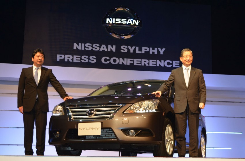 Nissan Sylphy launched in Thailand – new model gets improved 1.6, new 1.8, CVT; from 746,000 baht Image #127901
