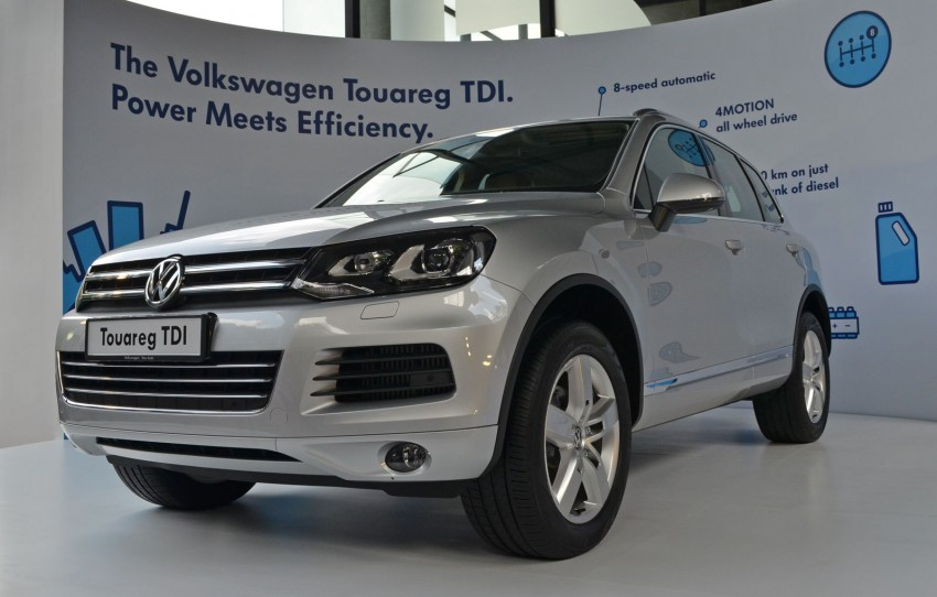 Volkswagen Touareg TDI launched, VGM's first diesel entry – 3.0L V6, 245 PS, 550 Nm, RM488,888 Image #139067