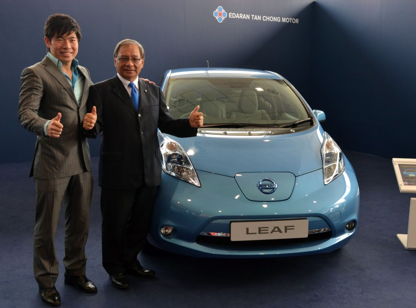 Nissan Leaf driven around the block – you can try it too! Image #104559