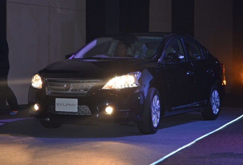Nissan Sylphy launched in Thailand – new model gets improved 1.6, new 1.8, CVT; from 746,000 baht Image #127902
