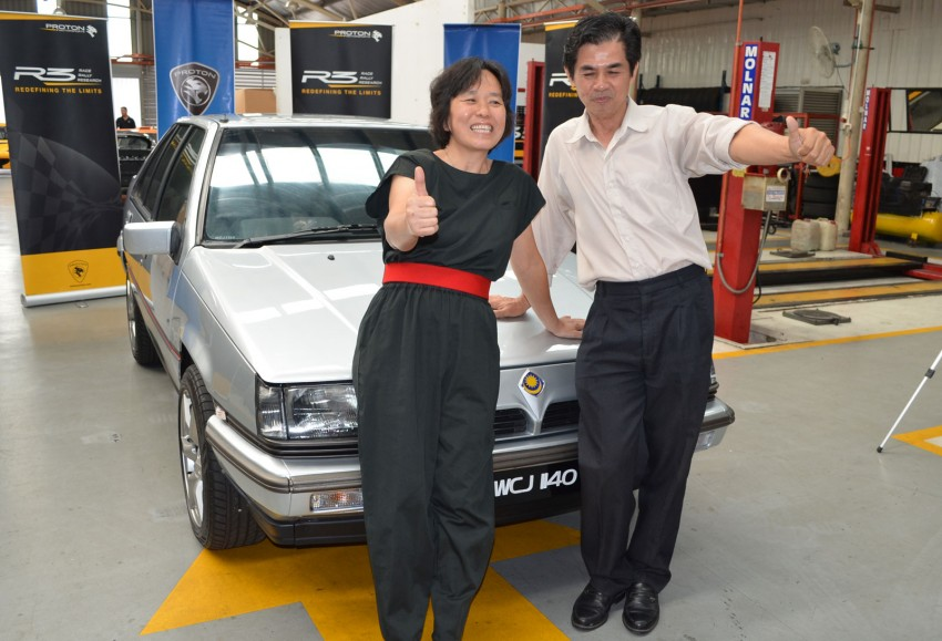 My Proton Makeover: Madam Lee's 1991 Saga revealed! Image #108049