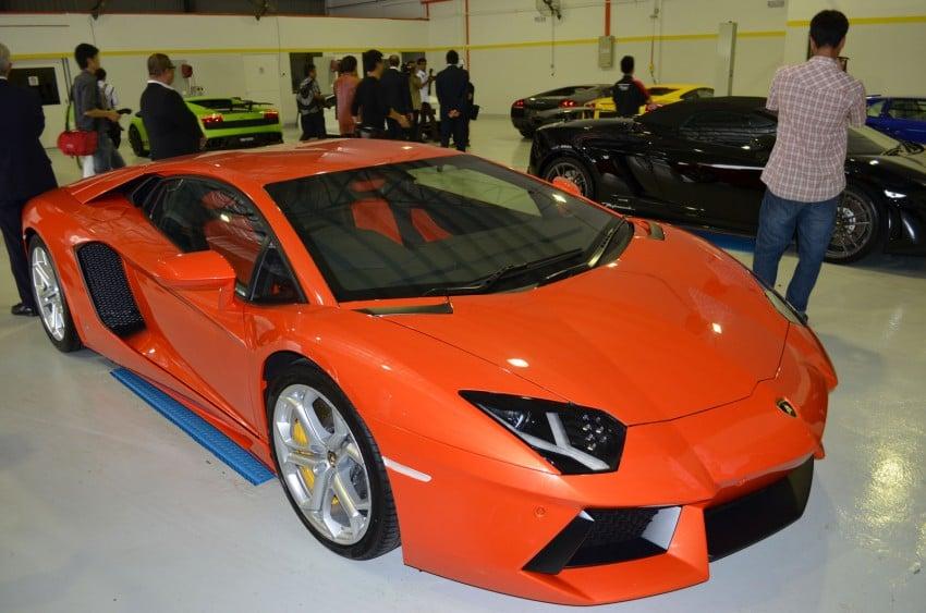 Lamborghini opens 3S centre in Glenmarie Image #108327