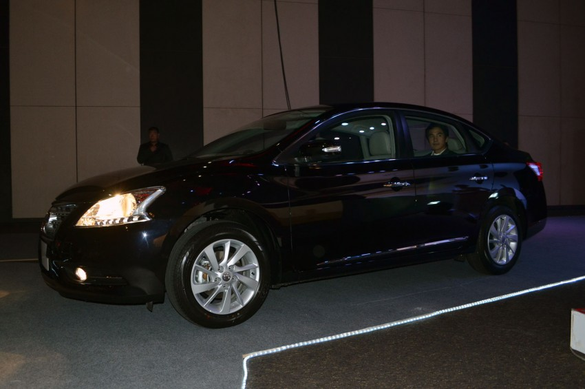 Nissan Sylphy launched in Thailand – new model gets improved 1.6, new 1.8, CVT; from 746,000 baht Image #127903