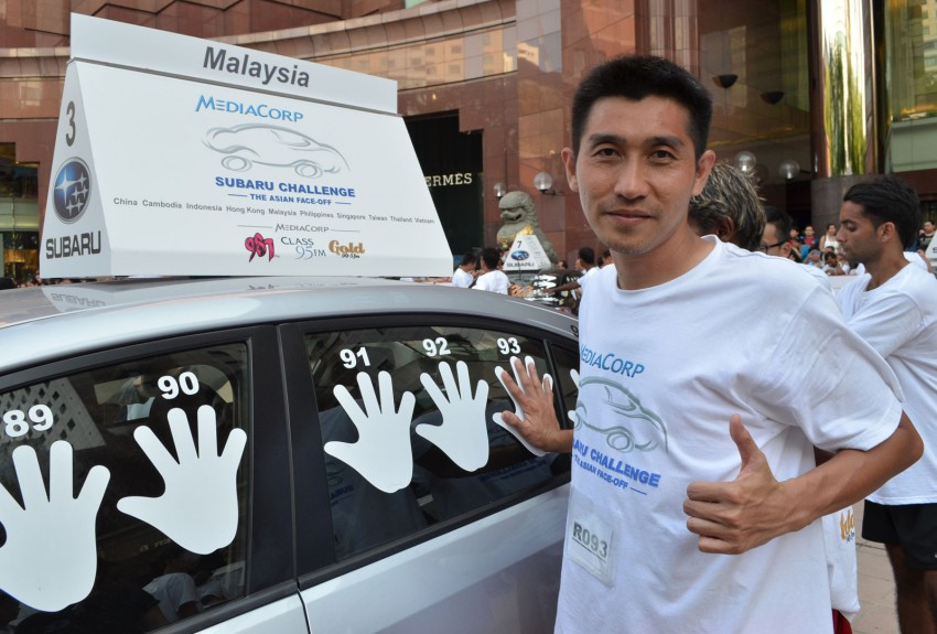 Subaru Challenge 2012 – The Asian Face-Off: Three Malaysians remain in the battle for a Subaru XV Image #138413