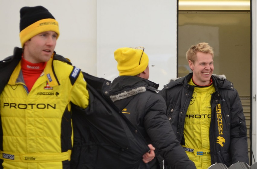 LIVE from Rally Sweden: Ex teammates Hirvonen and Latvala duel at the top, PG Andersson still leading S-WRC Image #87090