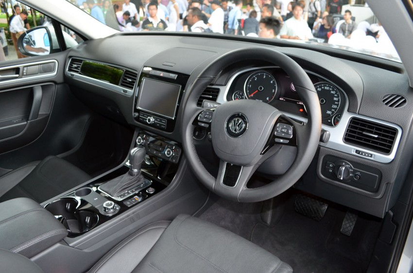 Volkswagen Touareg TDI launched, VGM's first diesel entry – 3.0L V6, 245 PS, 550 Nm, RM488,888 Image #139069