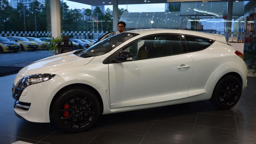 Renault Megane RS 265 Cup launched – RM235k Image #151705