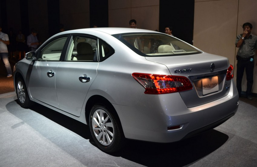 Nissan Sylphy launched in Thailand – new model gets improved 1.6, new 1.8, CVT; from 746,000 baht Image #127905