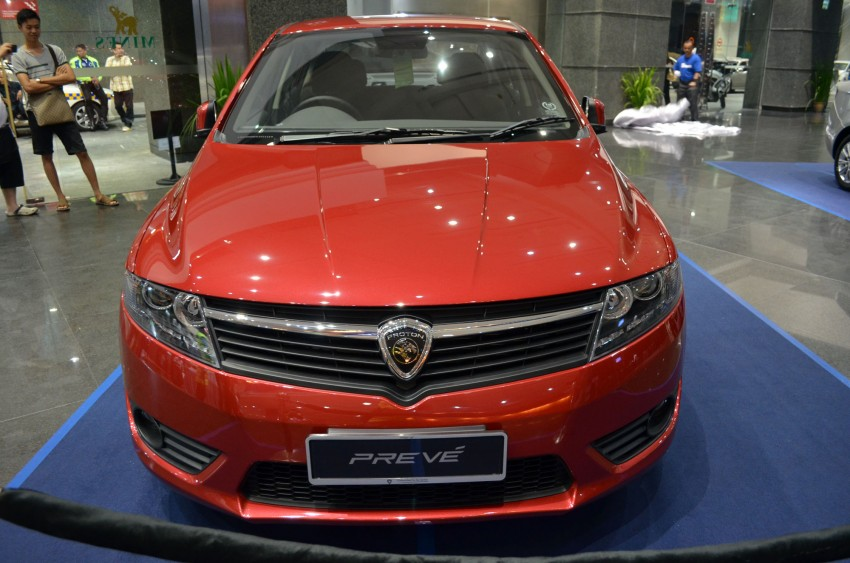 Proton Prevé with 1.6 turbo launched: RM60k – RM73k! Image #100972
