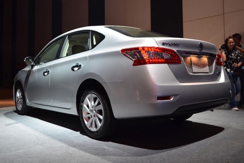 Nissan Sylphy launched in Thailand – new model gets improved 1.6, new 1.8, CVT; from 746,000 baht Image #127906