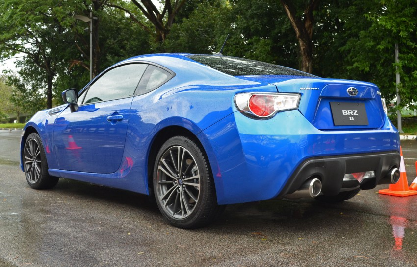 Subaru BRZ set for fourth quarter Malaysian launch – first impressions and full gallery from Singapore Image #98545