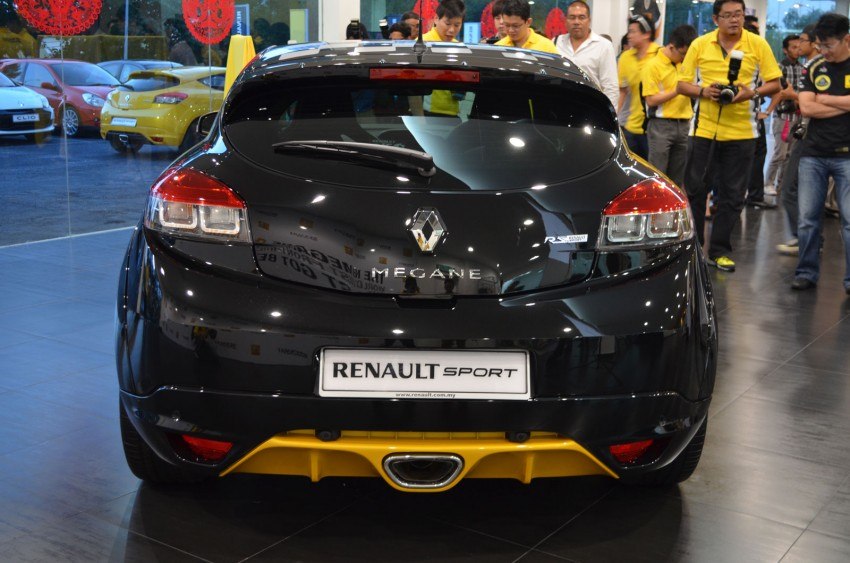 Renault Megane RS 265 Cup launched – RM235k Image #151707