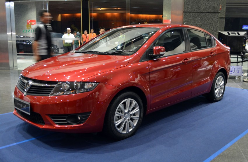 Proton Prevé with 1.6 turbo launched: RM60k – RM73k! Image #100973