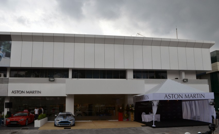 Aston Martin now officially represented in Malaysia, first showroom is along Federal Highway in PJ Image #118645