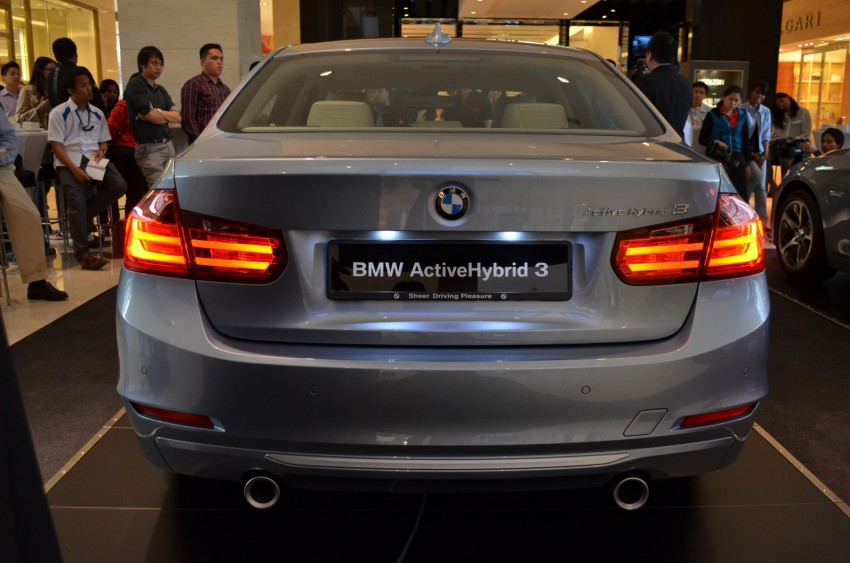 BMW ActiveHybrid 3 and ActiveHybrid 5 sedans officially launched – RM538,800 and RM648,800 Image #138157
