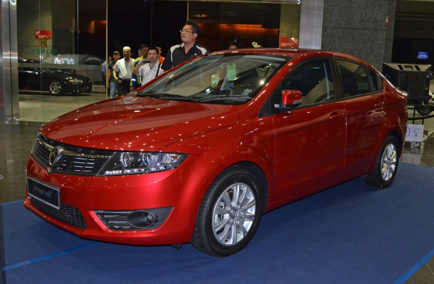 Proton Prevé with 1.6 turbo launched: RM60k – RM73k! Image #100974