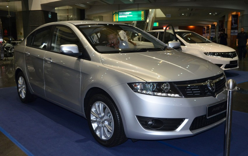 Proton Prevé with 1.6 turbo launched: RM60k – RM73k! Image #100975