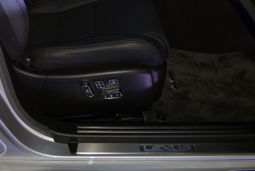 New Lexus LS launched – four variants, from RM788k Image #137822
