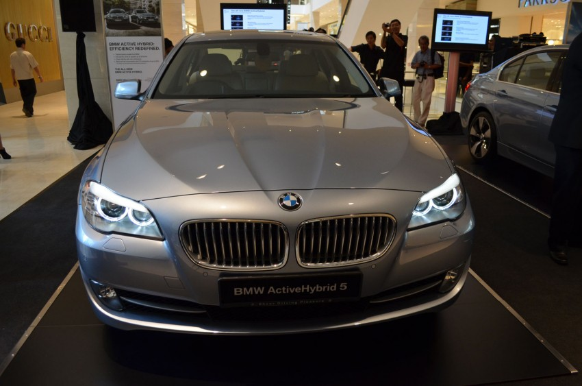 BMW ActiveHybrid 3 and ActiveHybrid 5 sedans officially launched – RM538,800 and RM648,800 Image #138159