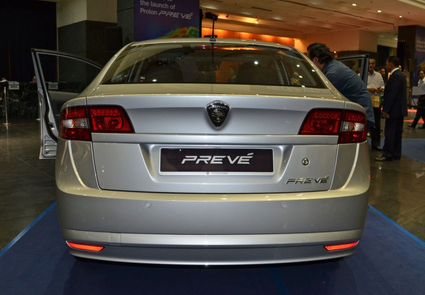 Proton Prevé with 1.6 turbo launched: RM60k – RM73k! Image #100976