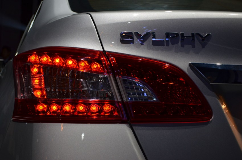 Nissan Sylphy launched in Thailand – new model gets improved 1.6, new 1.8, CVT; from 746,000 baht Image #127908