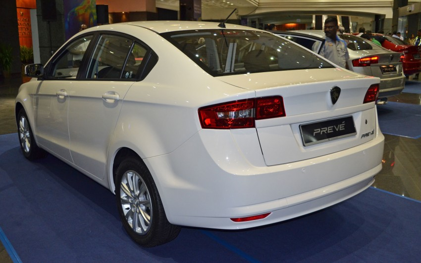 Proton Prevé with 1.6 turbo launched: RM60k – RM73k! Image #100977