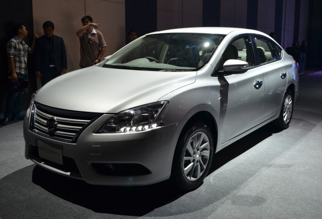 nissan sylphy launched in thailand new model gets improved 1 6 rh paultan org Nissan Sylphy 2012 2017 Nissan Sylphy