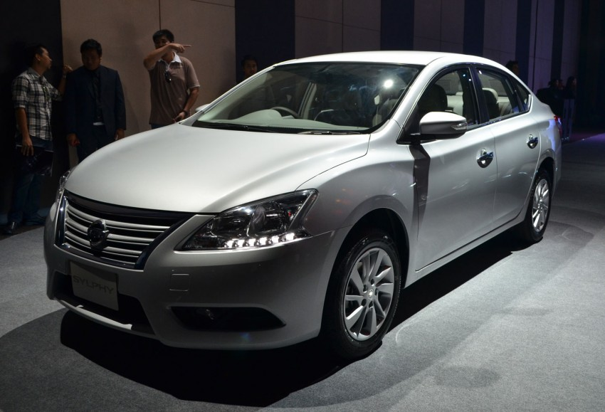 Nissan Sylphy launched in Thailand – new model gets improved 1.6, new 1.8, CVT; from 746,000 baht Image #127909