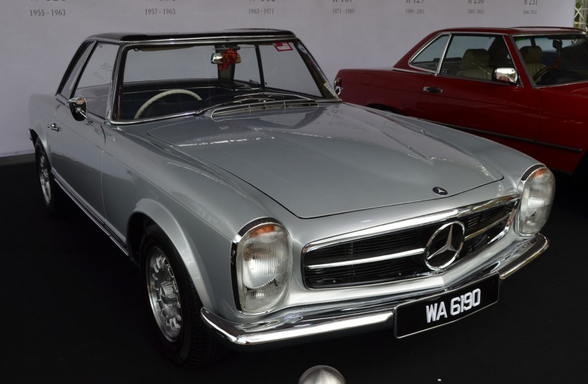 GALLERY: Five generations of the Mercedes-Benz SL Image #140461